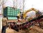 十堰劈树墩机,大型树根破碎机